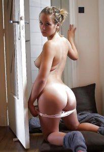 Cute Bare Teen Ass